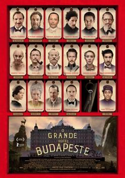 O grande hotem Budapeste poster
