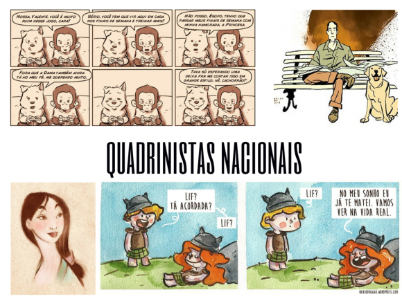 quadrinistas nacionais