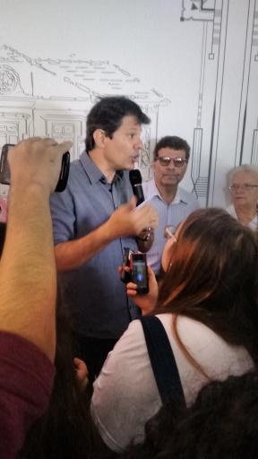 04_Prefeito Fernando Haddad no Casarão
