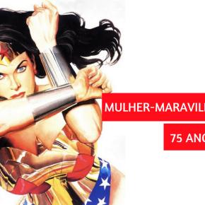 75 anos da Mulher-Maravilha