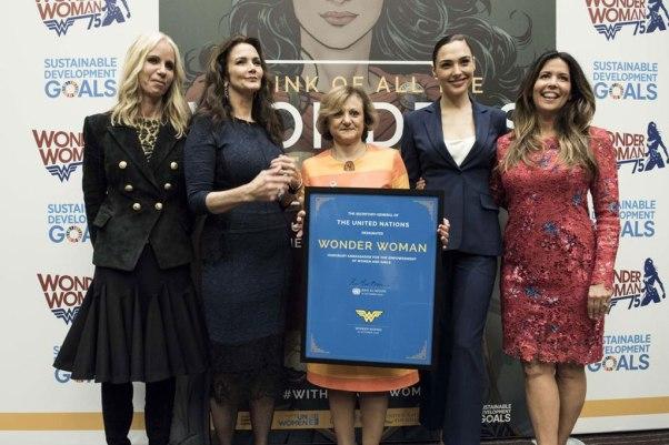 Lançamento da campanha na sede da ONU