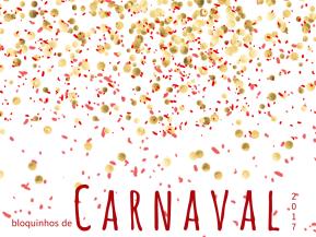 Blocos de Carnaval pelas regiões dacidade