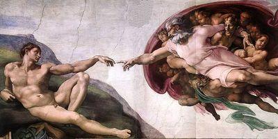 a criação michelangelo