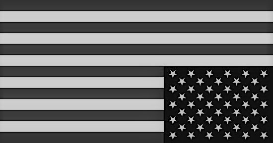 Upside-down-US-flag-of-occupation